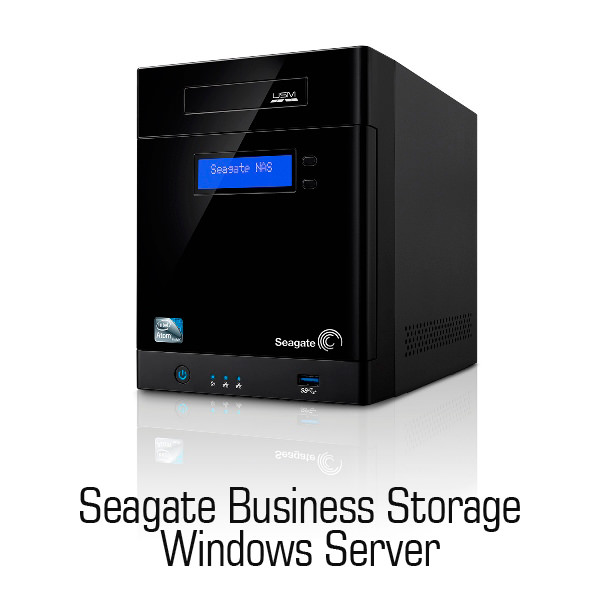 Seagate Business Storage windows Server 4-bay