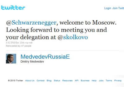 @SCHWARZENEGGER, MOSKOVA'YA HOŞGELDİN!