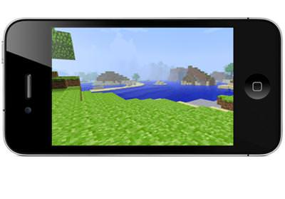 MİNECRAFT İPHONE VE İPAD'LERE GELİYOR
