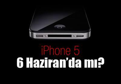 WWDC'DE İPHONE 5 AÇIKLANABİLİR