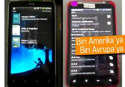 HTC KİNGDOM VE HTC RİDER DA GÖRÜNDÜ