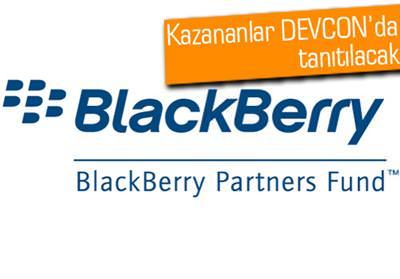 BLACKBERRY PARTNERS FUND'DAN GELİŞTİRİCİLERE 3 MİLYON DOLAR