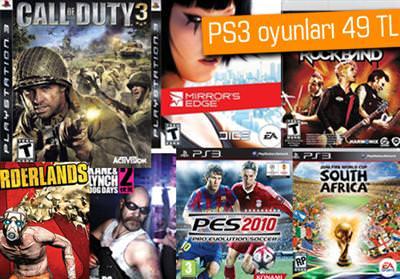 PS3 OYUNLARINDA BÜYÜK İNDİRİM