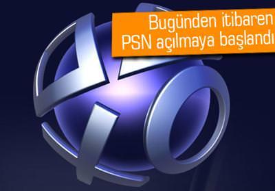 PLAYSTATİON NETWORK FAALİYETE GEÇİRİLMEYE BAŞLANIYOR