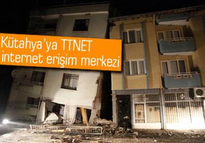TTNET'TEN SİMAVLI DEPREMZEDELERE DESTEK