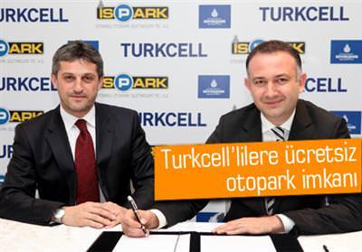 İSPARK VE TURKCELL'DEN BİR İLK