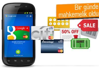 GOOGLE WALLET İLE ANDROİD'Lİ TELEFONLAR KREDİ KARTI OLACAK