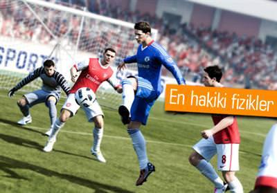 FIFA 12 YENİ ÖZELLİKLERİYLE İDDİALI GELİYOR