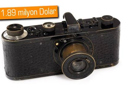 1923 LEİCA 0 SERİSİ FOTOĞRAF MAKİNASI, DÜNYANIN EN PAHALISI OLDU