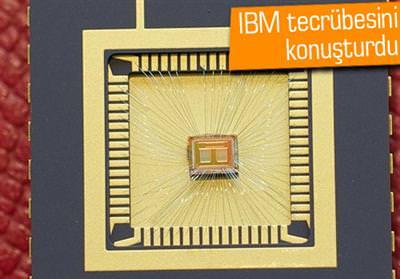 IBM, FLASH BELLEKTEN 100 KAT HIZLI BELLEK TASARLADI