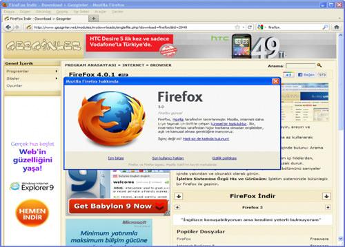 Mozilla Firefox 9.0.1