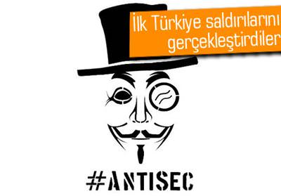 ANTİSEC, TÜRKİYE'DEN 74 GOV.TR UZANTILI SİTEYİ HACKLEDİ