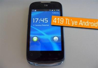 TURKCELL T20 MAXİPHONE