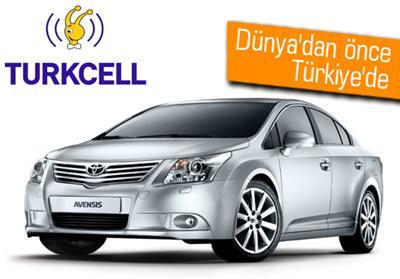TURKCELL 3G'Lİ TOYOTA AVENSİS'LER ÇOK YAKINDA