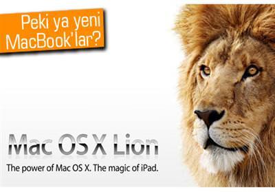 MAC OS X 10.7 LİON İÇİN SON 24 SAAT