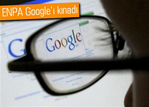 Google'dan gazeteye yasak