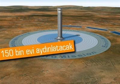 ENVİROMİSSİON: 800 METREDEN YÜKSEK GÜNEŞ ENERJİSİ KULESİ