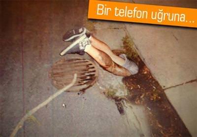 TELEFONU ALMAK İSTERKEN LAĞIMA SIKIŞTI