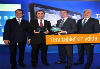 TÜRK TELEKOM CEO'SU YENİ TABLET MÜJDESİNİ VERDİ