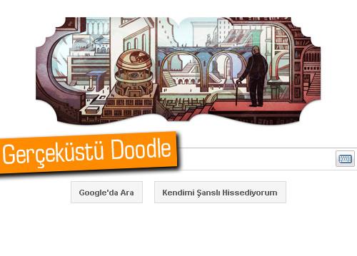 Jorge Luis Borges için Google'dan Doodle'lı jest