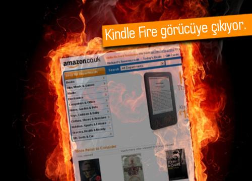 Amazon'dan yeni cihaz: Amazon Kindle Fire