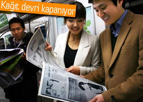 Kağıt gazetelerin son kullanma tarihi: 2040