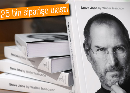 Steve Jobs'un kitabı rekor kırdı