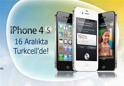 İPHONE 4S TURKCELL İLE GELİYOR