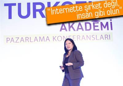 TURKCELL AKADEMİ PAZARLAMA KONFERANSI'NDA CHARLENE Lİ VARDI