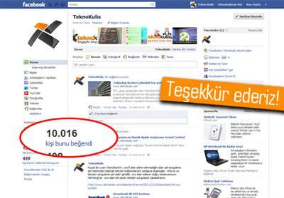 TEKNOKULİS FACEBOOK GRUBU ARTIK 10.000 KİŞİ GÜCÜNDE