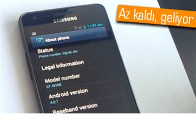 SAMSUNG GALAXY S II VE GALAXY NOTE'A ANDROİD 4.0 ICS NE ZAMAN GELİYOR?