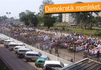 DEMOKRATİK KONGO'DA SMS YASAKLANDI