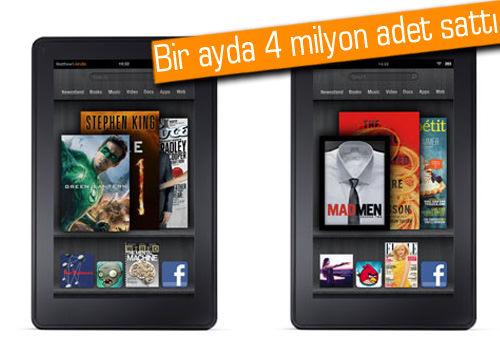 iPad'i Kindle 'ateş'i yakıyor