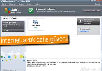 AVG LİNKSCANNER FREE 2012 1913