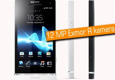 Sony Nin Ilk Akilli Telefonu Xperia S Ilk Kez Ve Sadece