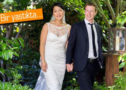 Facebook'un kurucusu Mark Zuckerberg evlendi