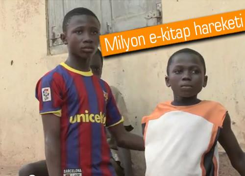 Barça Afrikalı çocuklara 1 milyon e-kitap bağışlamak için kolları sıvadı