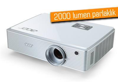 ACER K520 HİBRİD LED-LAZER PROJEKTÖR TÜRKİYE'DE