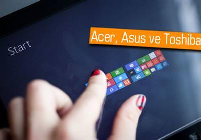 WİNDOWS 8 TABLETLER COMPUTEX'E GELİYOR