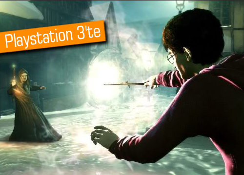 Harry Potter büyüsü Playstation 3'te