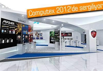 MSI, YENİ GÖZDELERİNİ 4 ANA LAPTOP SERİSİ ALTINDA  COMPUTEX 2012'DE SERGİLİYOR