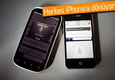 ANDROİD'CİLER DE İPHONE'A DÖNER