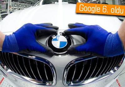 BMW, GOOGLE VE APPLE'I SOLLADI