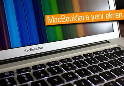 RETİNA DİSPLAY, MACBOOK'TA MI?