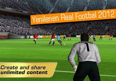 AVRUPA ŞAMPİYONASI REAL FOOTBALL 2012'YE DE UĞRADI