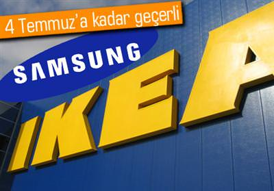 SAMSUNG'UN TELEVİZYONLARI IKEA'NIN ÜRÜNLERİ İLE BİRLEŞİYOR