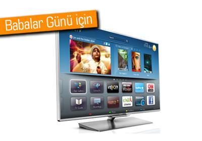 PHİLİPS TV 6000 SERİSİYLE BABANIZ DA 3. BOYUTU KEŞFETSİN
