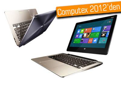 ASUS, TAİCHİ VE TRANSFORMER BOOK'U COMPUTEX 2012'DE TANITTI