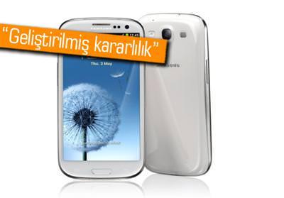 GALAXY S3'E İLK GÜNCELLEME GELDİ