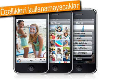 İPHONE 3GS VE 4'E KÖTÜ HABER